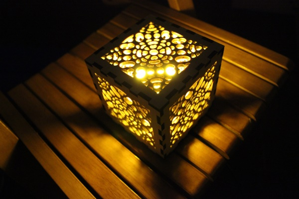 蜂窝灯罩激光设计图