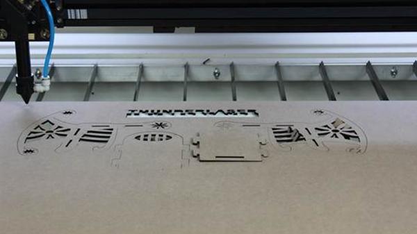 激光切割密度板