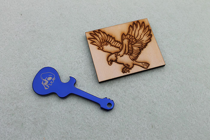 镀膜金属-激光雕刻机
