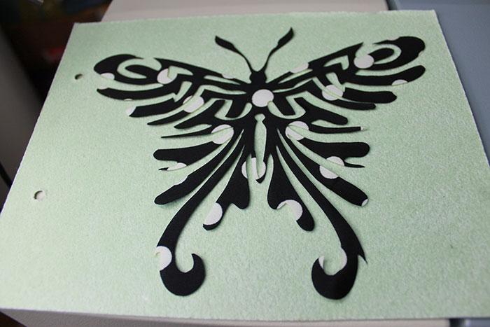皮革布料-激光雕刻机