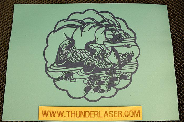 剪纸-激光切割机