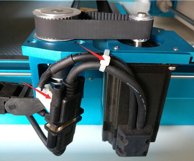 更换电机和调节电机皮带