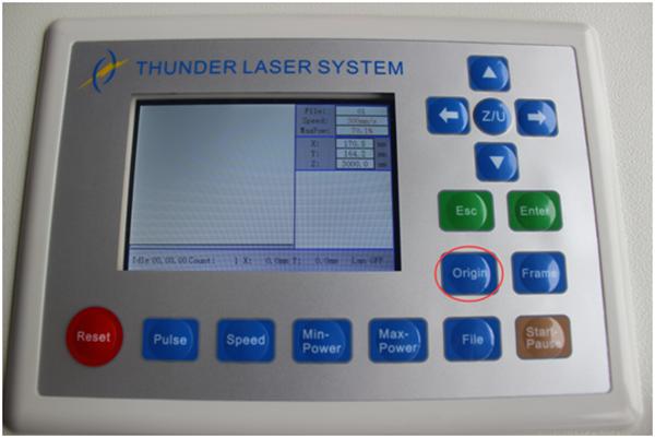 LCD控制面板