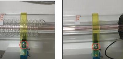 如何更换激光管?