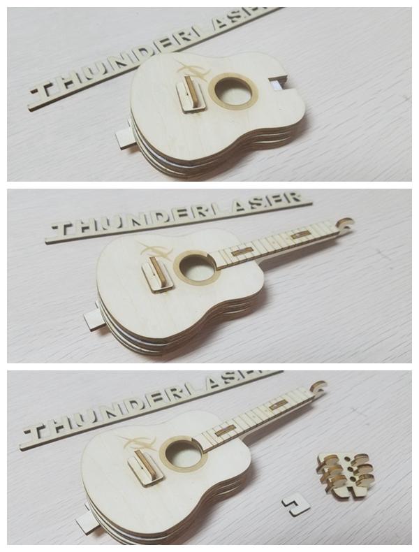 组装吉他部分