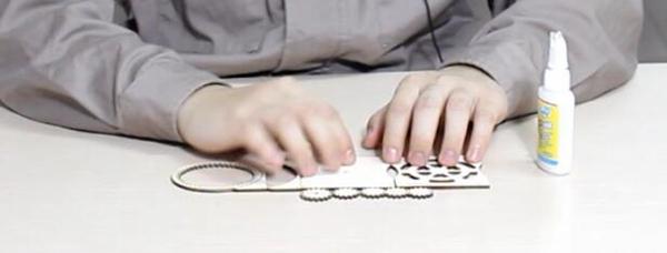 齿轮玩具的零件