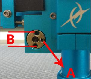 如何调节导向轮和X轴滑块