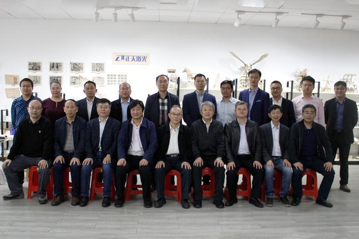 中国高校考察团来访